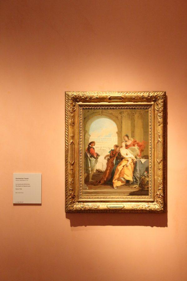 """""""Morte di Sofonisba"""" di Giambattista Tiepolo"""