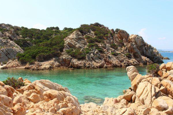 Le rocce granitiche di Cala Napoletana - Caprera