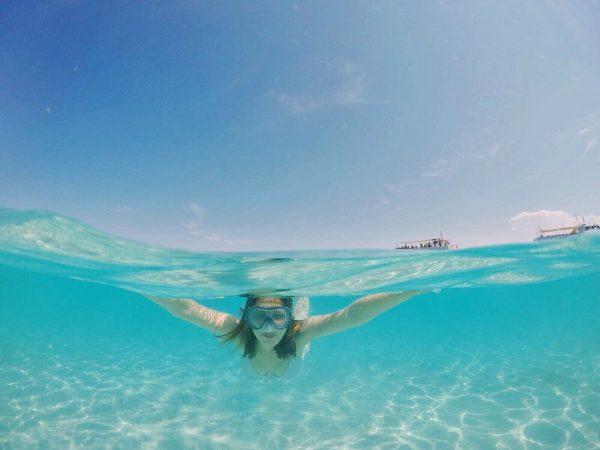 Snorkeling a Cala Granara - Isola di Spargi