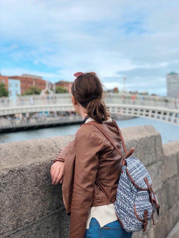 Il ponte pedonale più conosciuto di Dublino