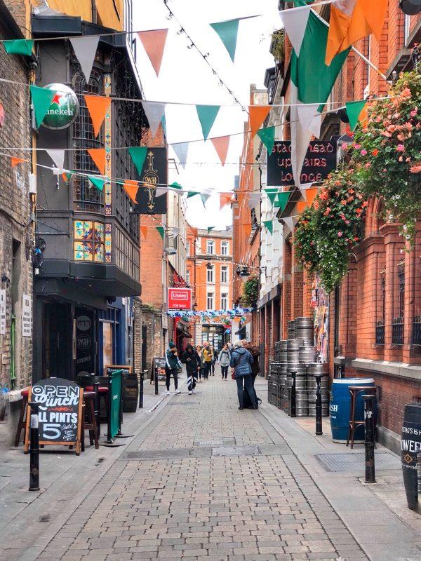 Dame Street, la via dello svago notturno