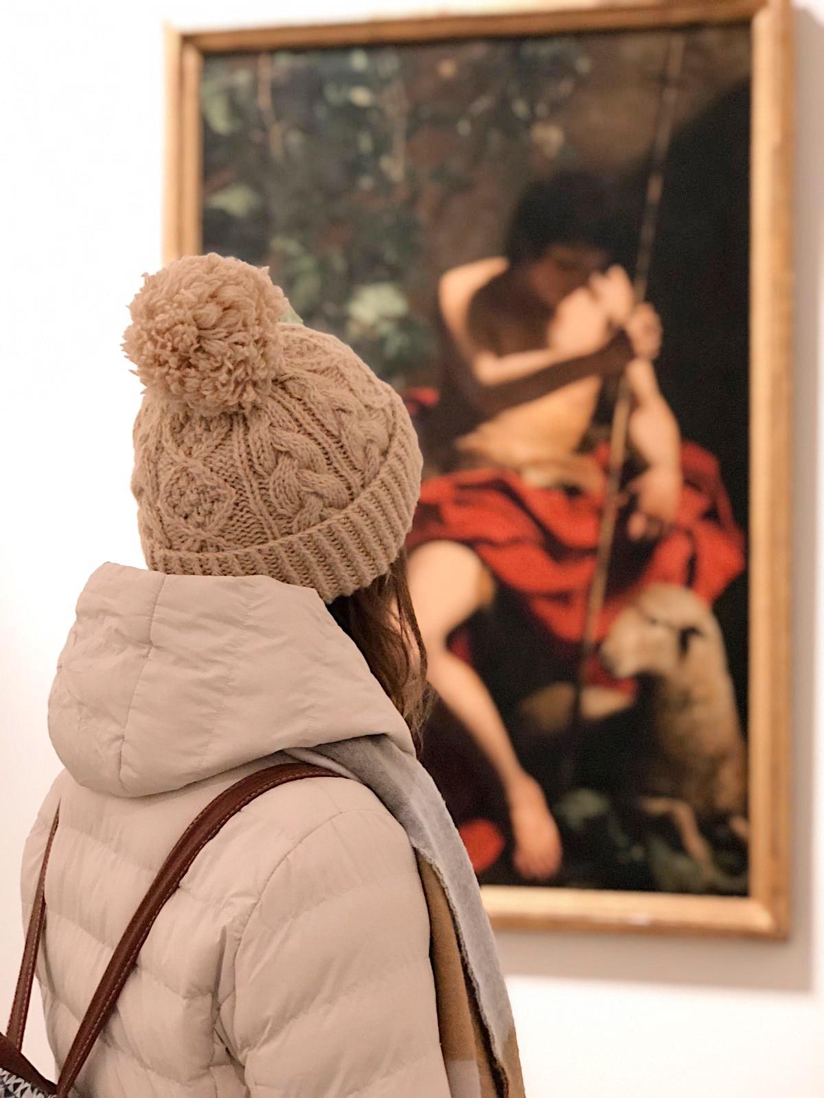 La tela di Caravaggio
