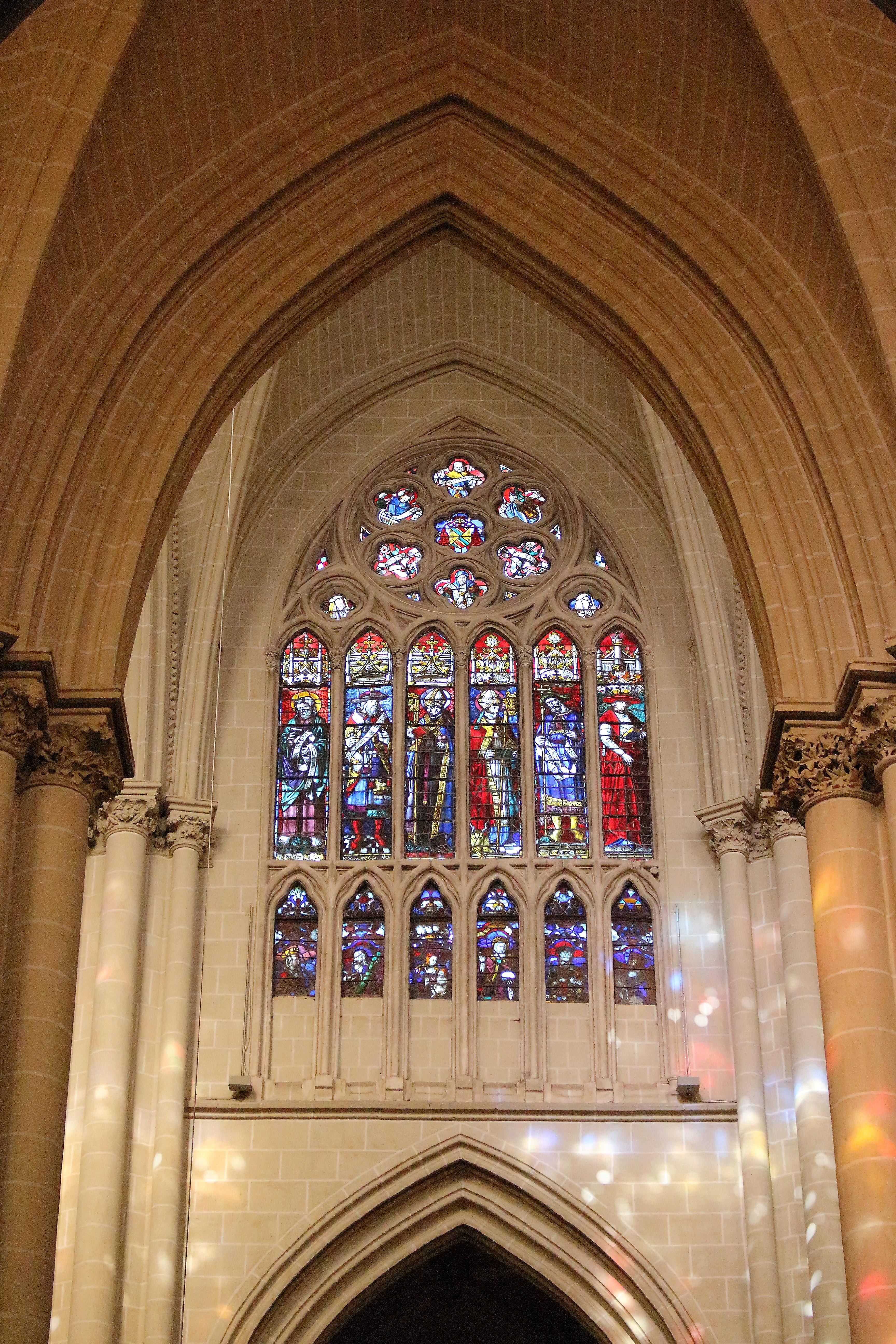 Le vetrate colorate della Cattedrale