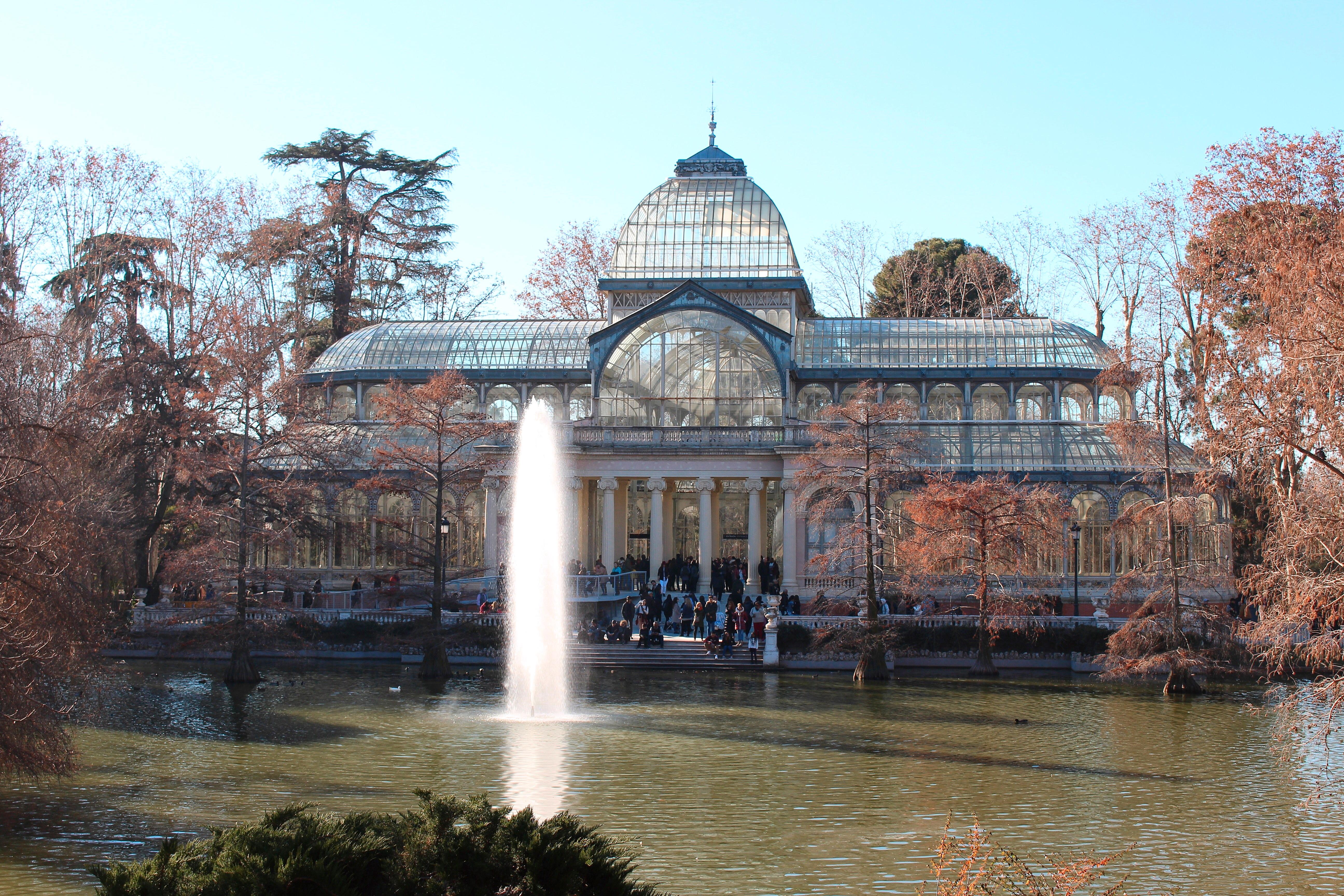 Palacio de Cristal, l'edificio più bello del parco