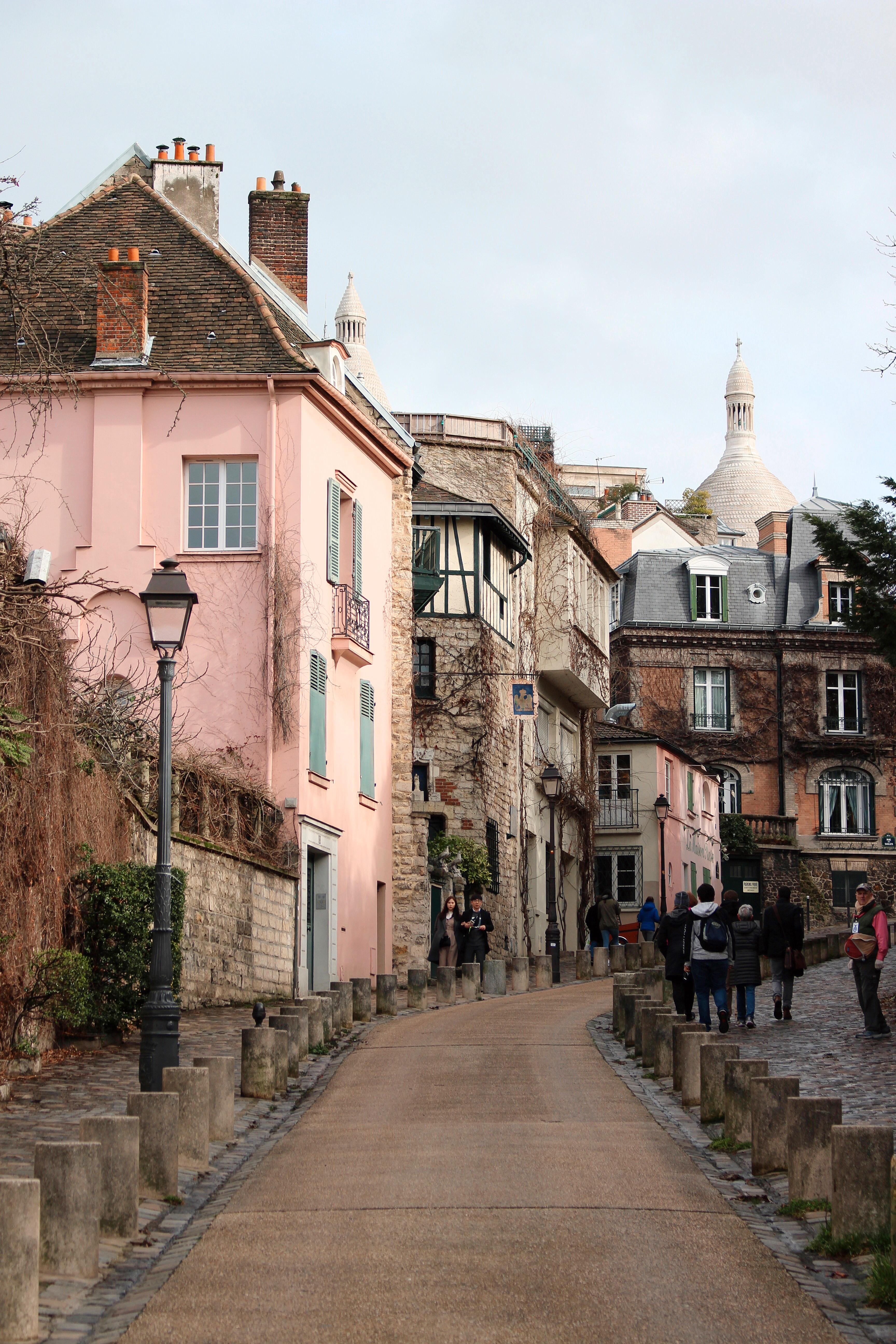 Scorci da Rue de l'Aubrevoir - Montmartre