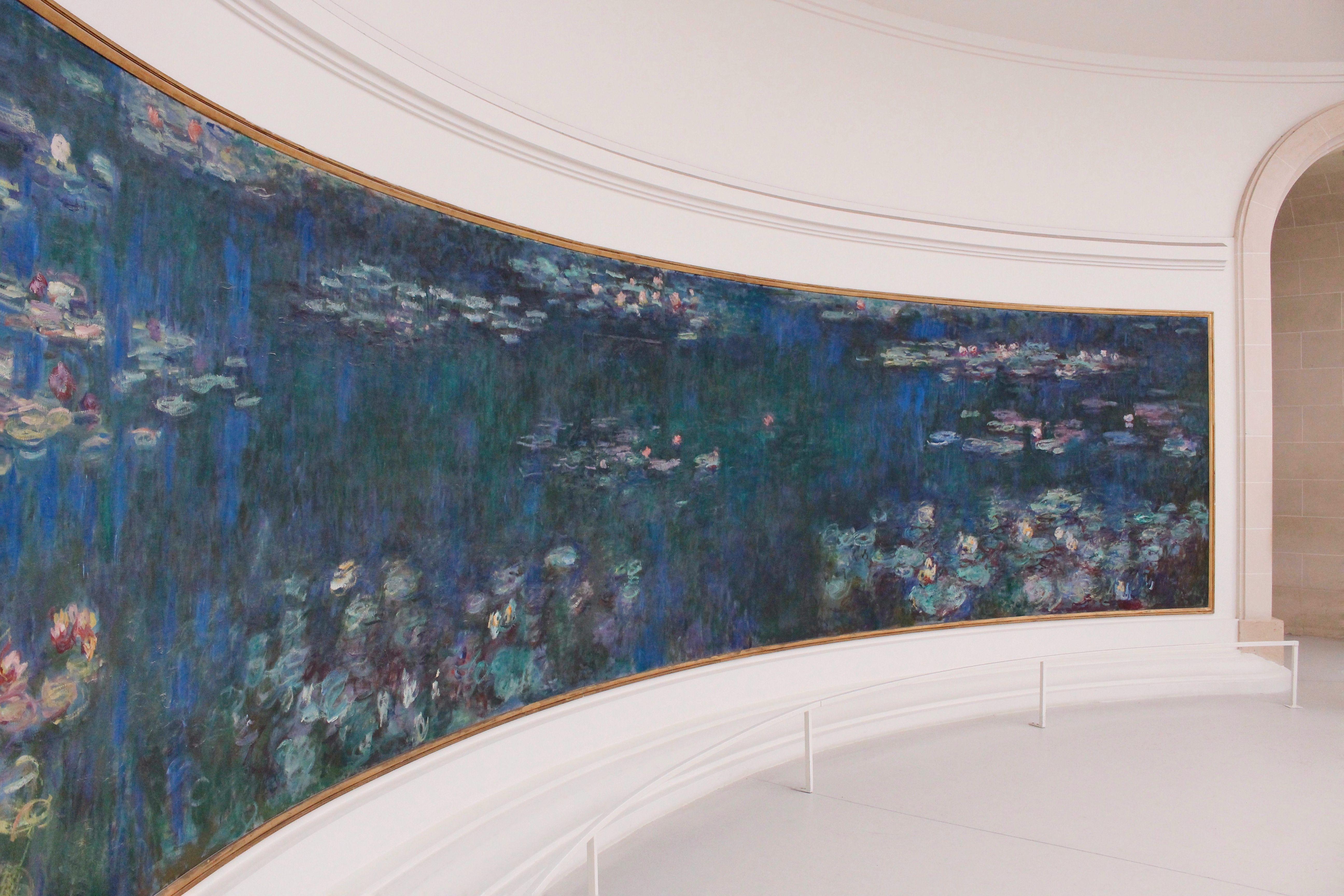 Le ninfee di Monet - Musée de l'Orangerie